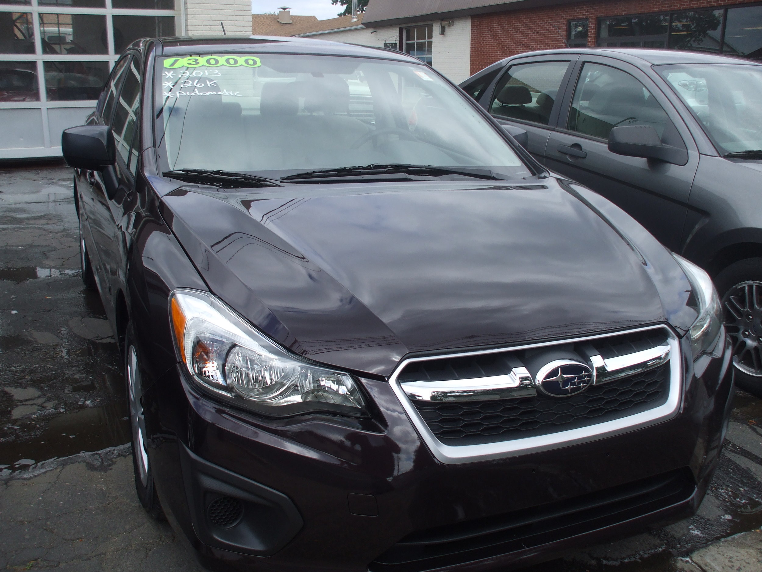 2013 Subaru Impreza 4 door $13,000  Automatic stock #       Black30k Great Condition Warranty call or stop by Cerritos Auto Sales 280 N Colony St wallingford ct 06492.