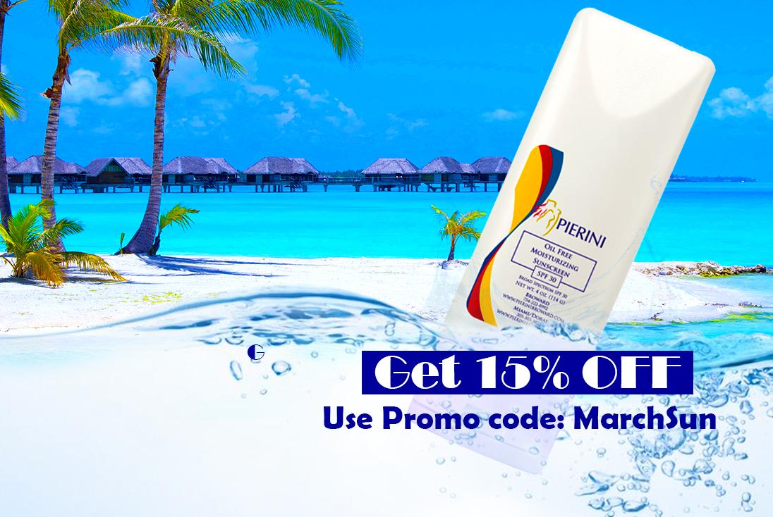 Pierini Oil-Free Sunscreen, $18.00