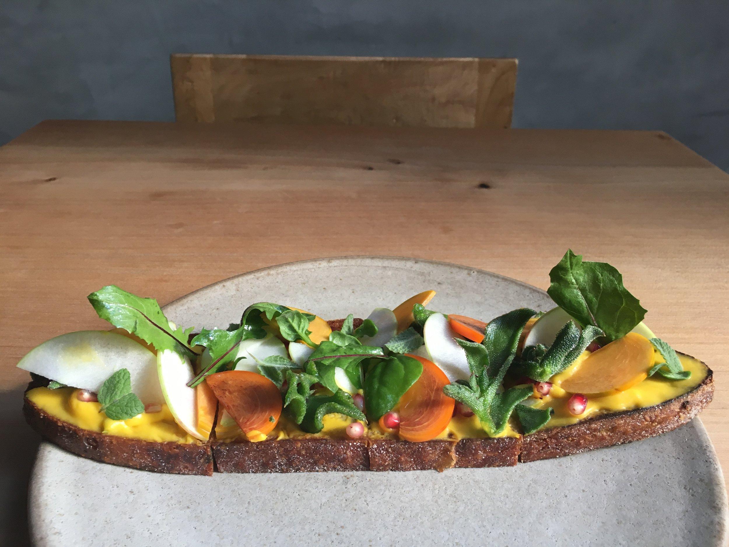 Coastal Toast persimmon