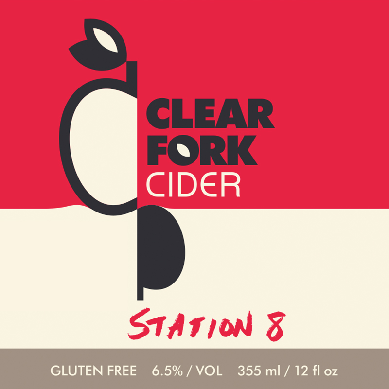 The Clear Fork Cidery started across the street from Denver Fire Department Station Eight, once known as the Marion Hose House. We named this blend of Colorado cider apples in honor of the Station. It features a mix of Golden Russet and Pomme Gris apples fermented with a Belgian Saison yeast to produce an easy drinking cider with a nice balance between tannins and acids and flavor notes of pink grapefruit, melon, and peach.  Dry. 6.5% ABV.        _  _