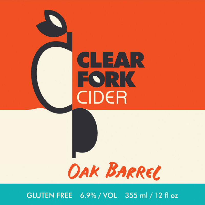 Oak Barrel Blend features apples from the Arriola and Lewis, Colorado, from the XK Bar Ejido orchard in Crawford, Colorado, and an old orchard in Lakewood, Colorado, as well as apples from the Ford Farm in Portland, OR. The blend includes Stayman Winesap, Jonathan, Wealthy, Macintosh, Dabinett, Sweet Coppin, Geeveston Fancy and seedlings collected in Crawford and Lewis. After fermentation with English Cider Yeast, the cider was racked to used French and California Oak Barrels and aged for five months. The cider is both earthy and smooth, with subtle tastes of tobacco and cherries.  Dry. 6.9% ABV.