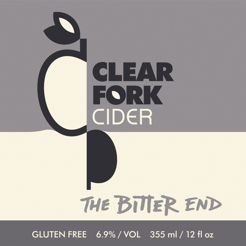 The Bitter End is a blend of everything left in our barrels and tanks at the end of bottling season. It leans to the bitter side, but not dramatically so, and has a mild astringency similar to Oak Barrel blend but without any underlying oakiness.  Dry. 6.9% ABV.