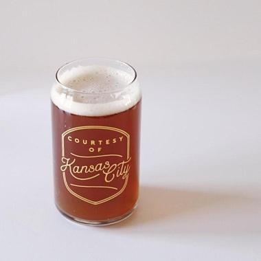 Courtesy of Kansas City Beer glass