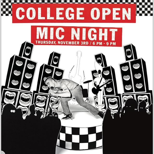 Come on out to the Vans Open Mic on Newbury st November 3rd! Musicians, Poets, Comedians and COFFEE!!! 6-9pm