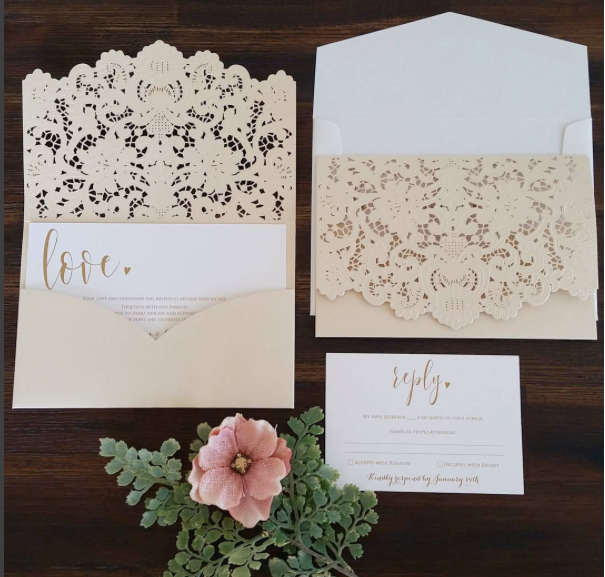 invitation by Take note creations