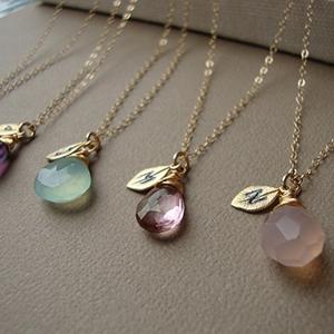 Lizix26 – Initial Necklace ($25)