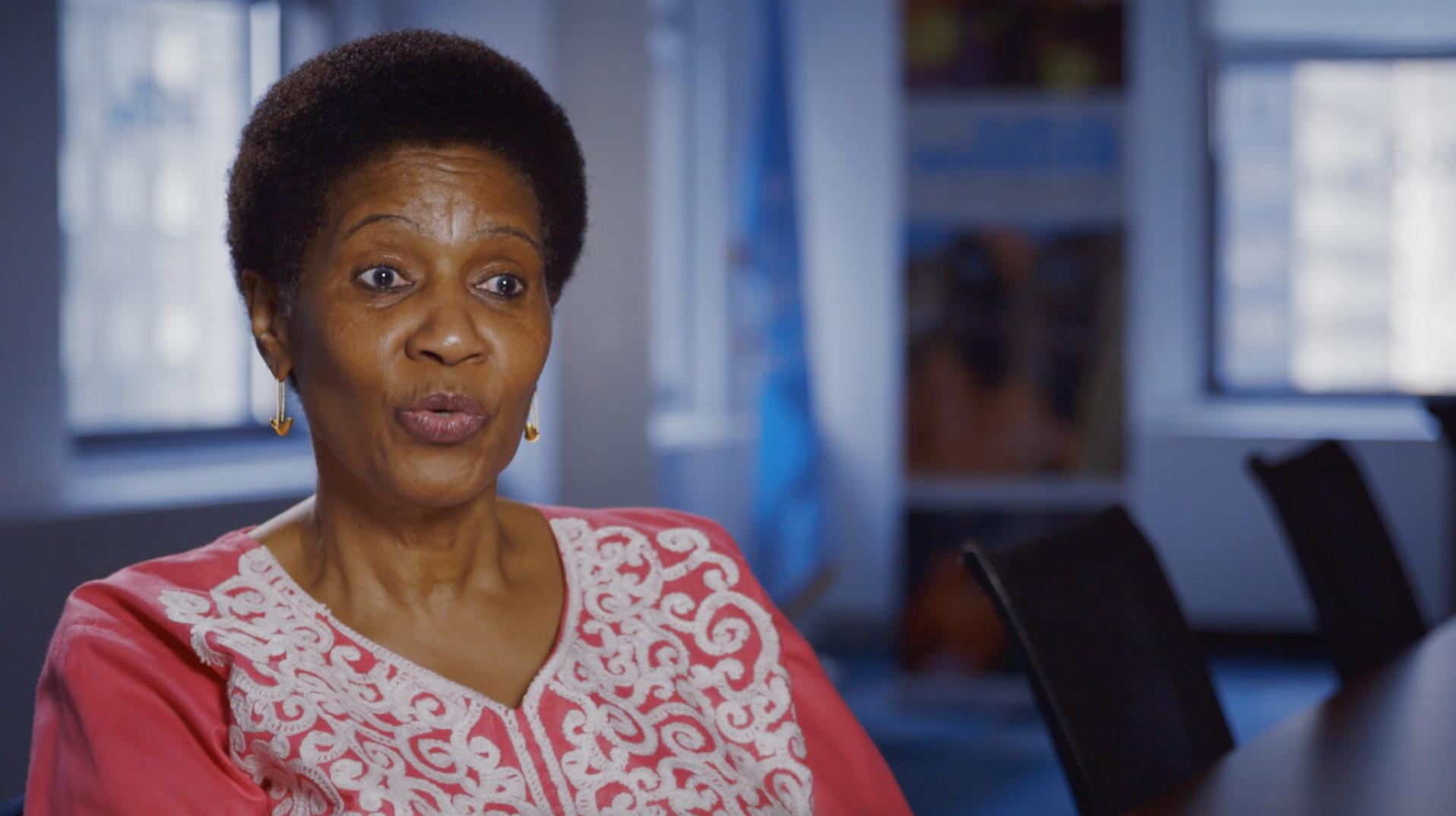 PHUMZILE MLAMBO-NGCUKA   Executive Director, United Nations Women