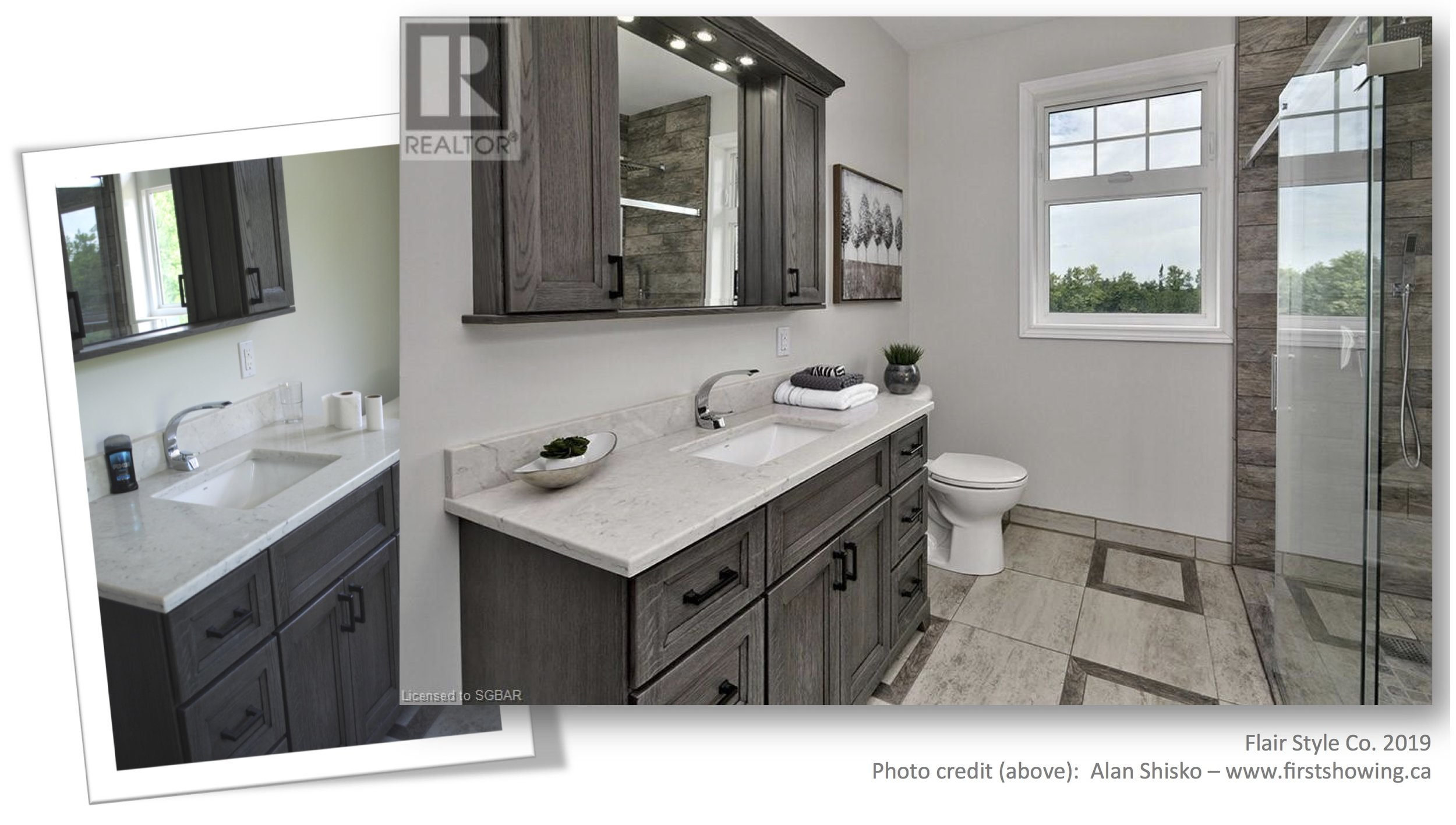 Bathroom - Before/After