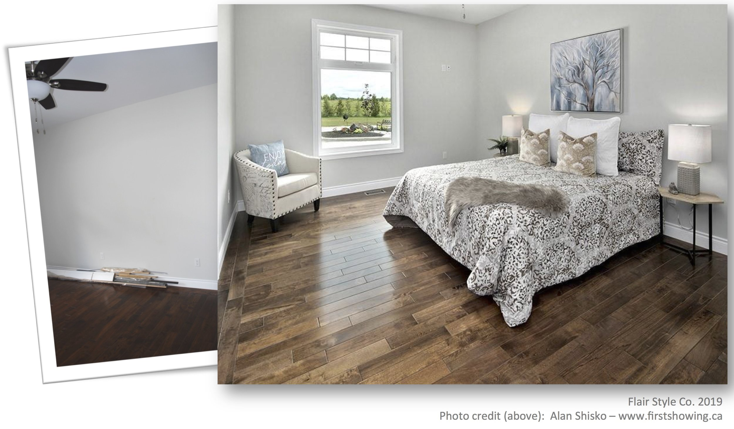 Spare Bedroom - Before/After