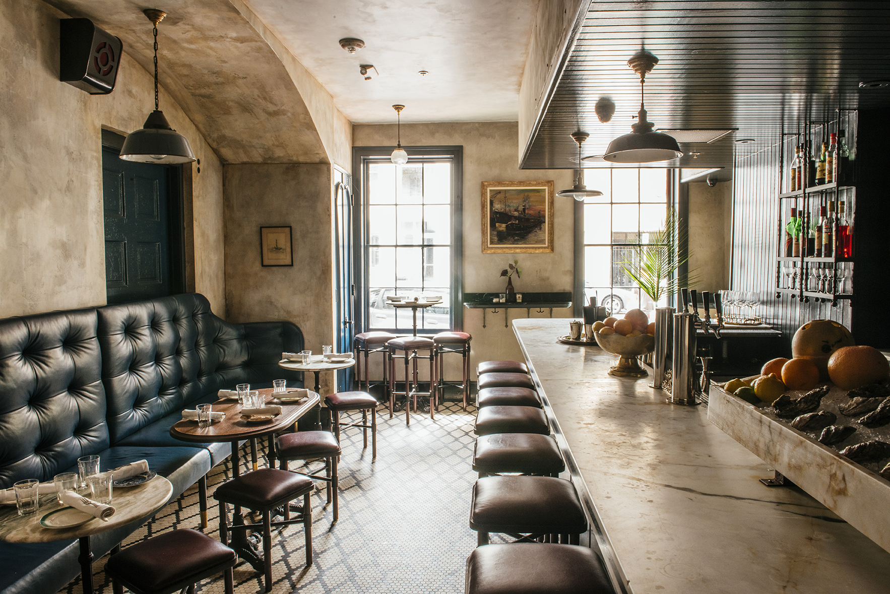 Seaworthy - Located in an old CBD townhouse next to the Ace Hotel, Seaworthy is a warm, layered space that evokes a different time and place. Dripping candlewax and cozy seating make it hard to fight the romantic vibe.