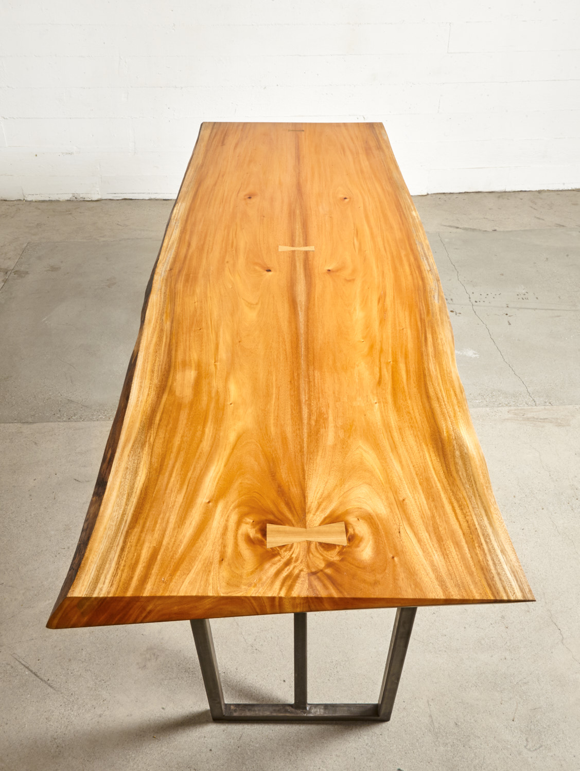 Solid Mahogany slab. Other wood varieties available.