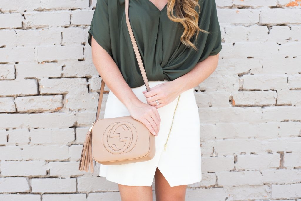 Blogger Gracefully Taylored wearing Nordstrom Top and Gucci Disco Bag (2)