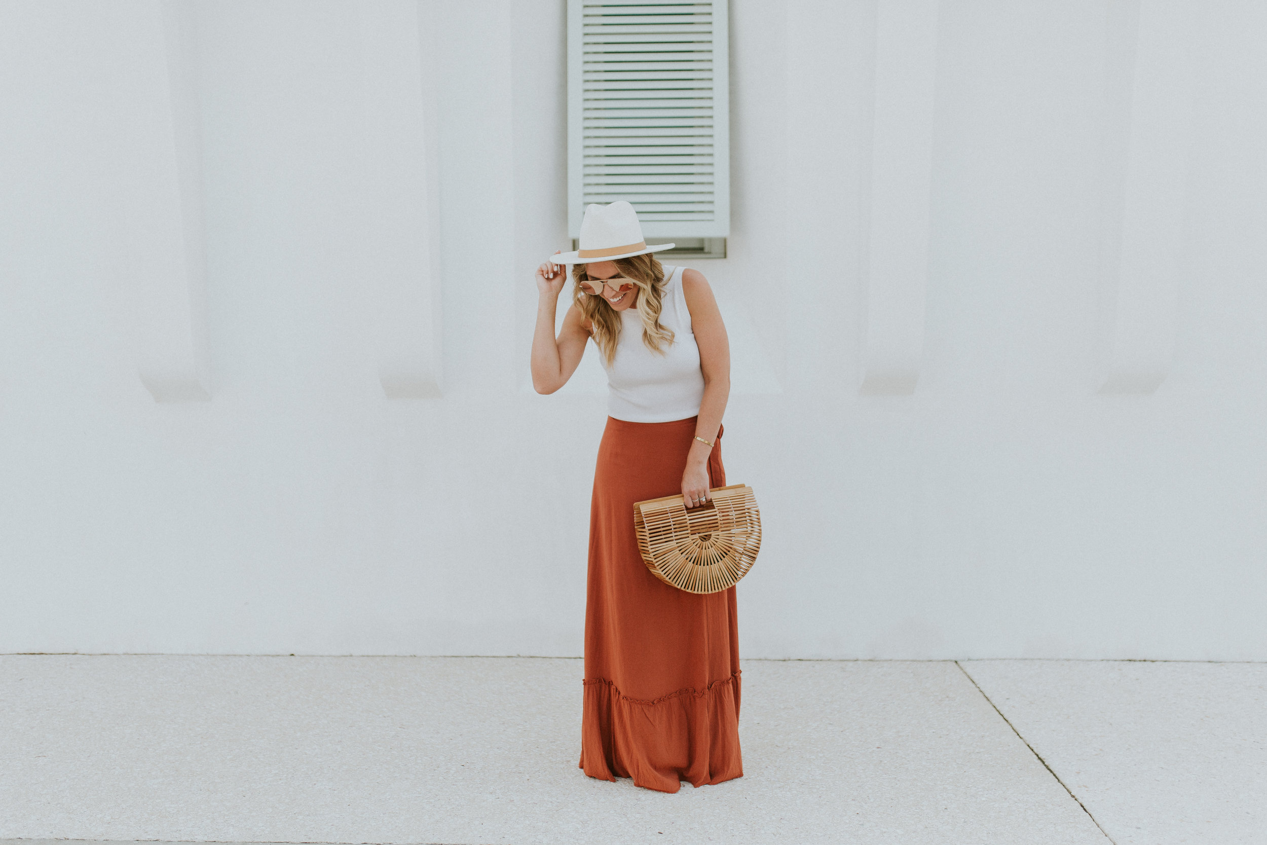 Blogger Gracefully Taylored in Revolve Skirt and Lack of Color Hat(24).jpg