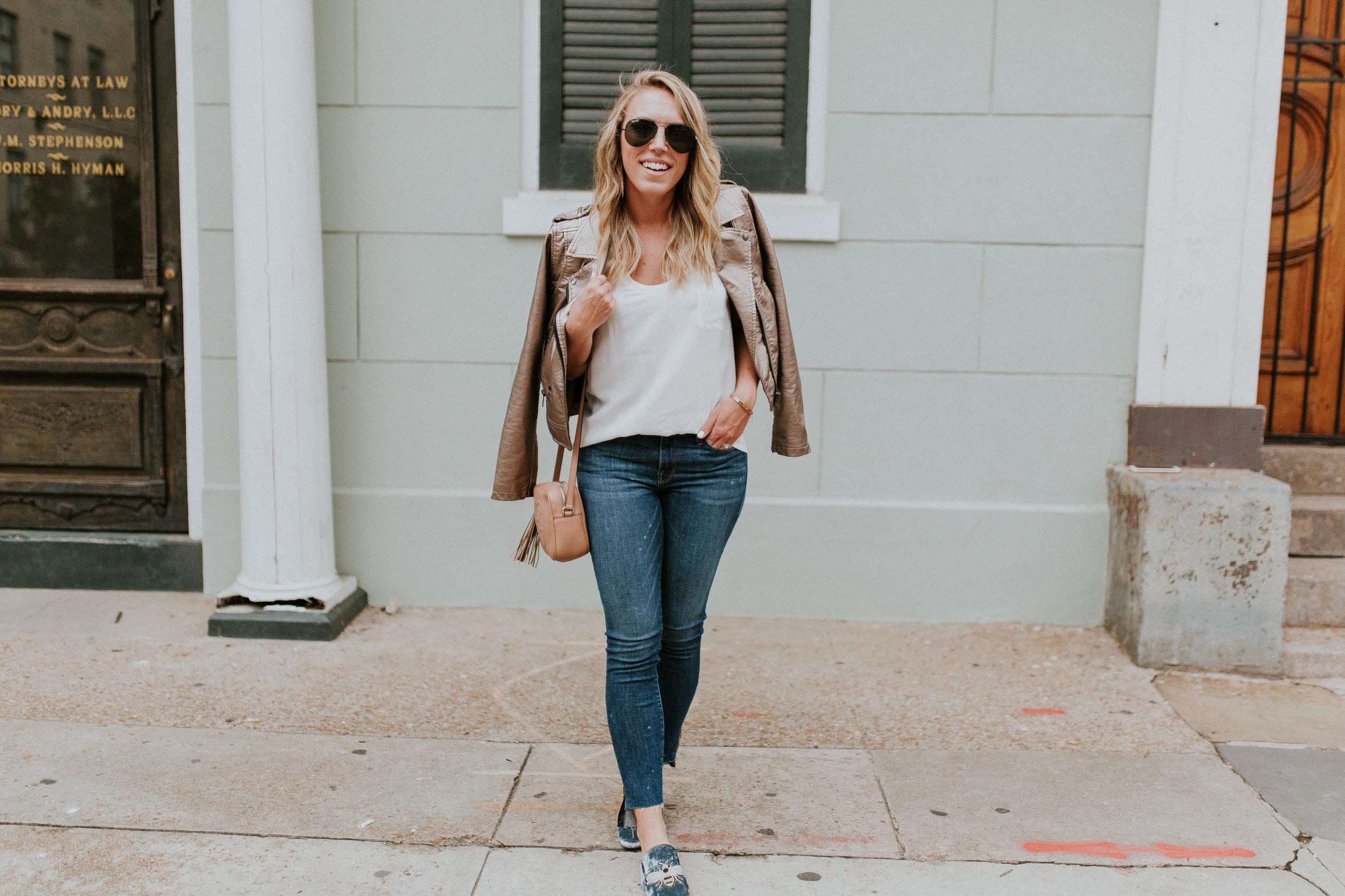 Blogger Gracefully Taylored in Blank NYC Metallic Jacket(11).jpg
