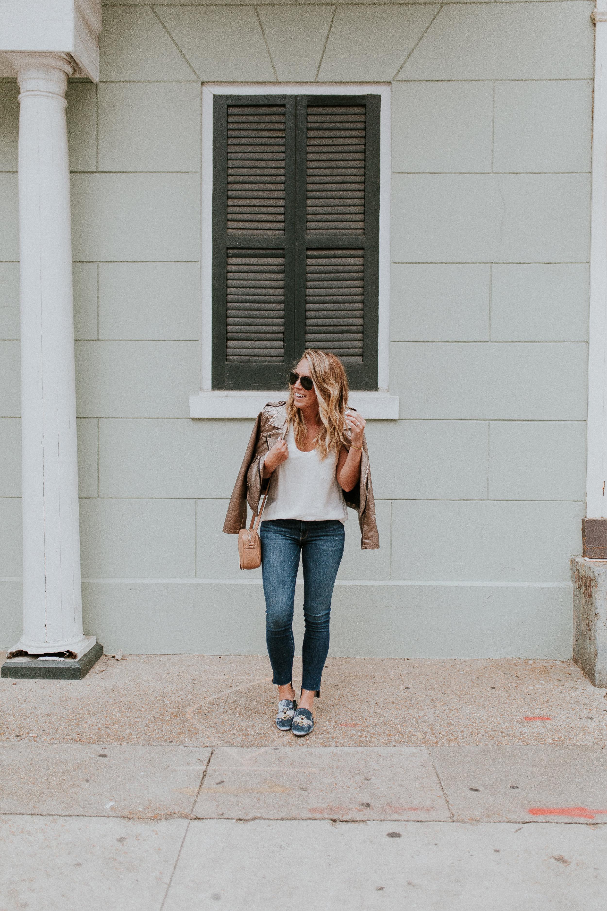 Blogger Gracefully Taylored in Blank NYC Metallic Jacket(10).jpg