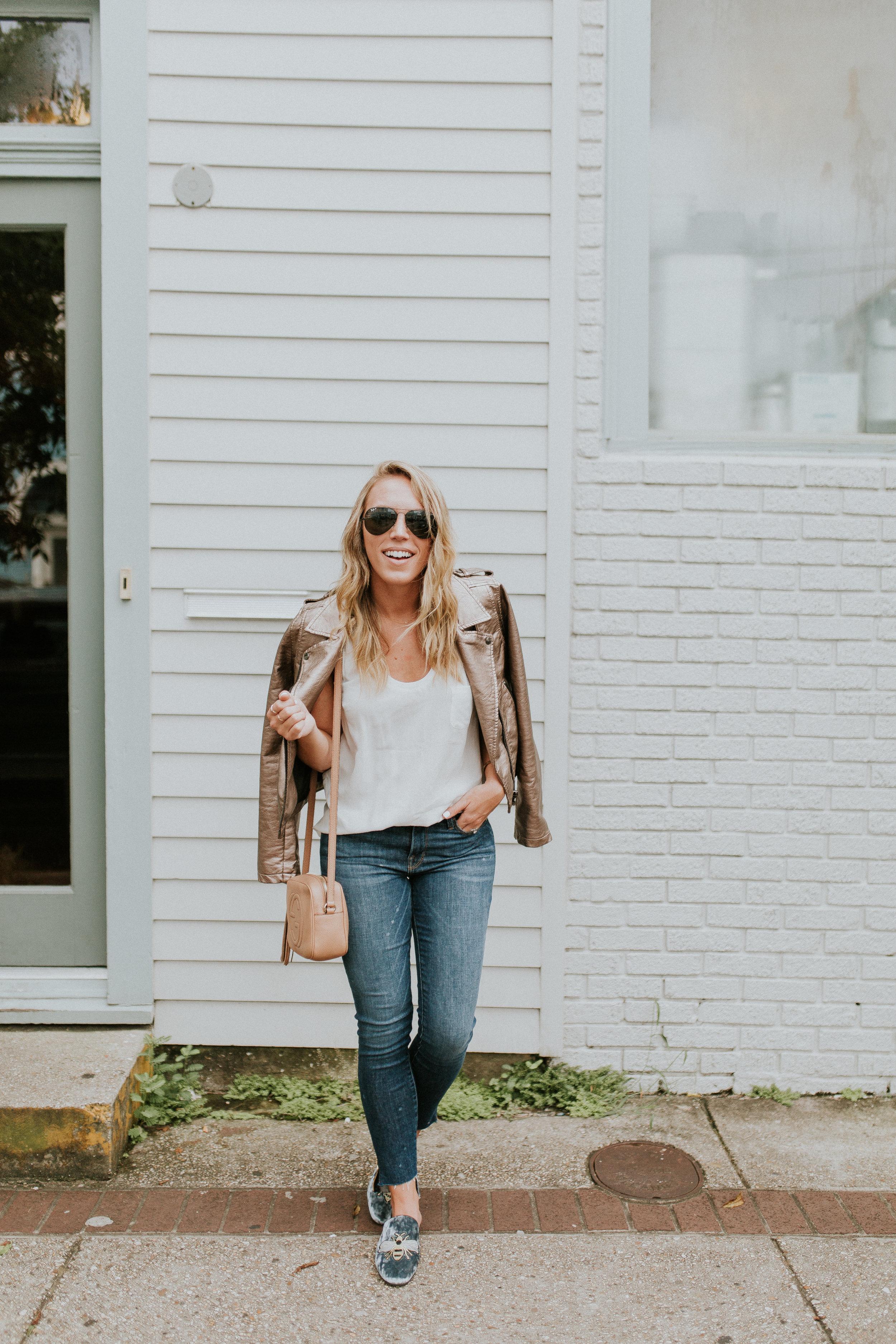 Blogger Gracefully Taylored in Blank NYC Metallic Jacket(2).jpg