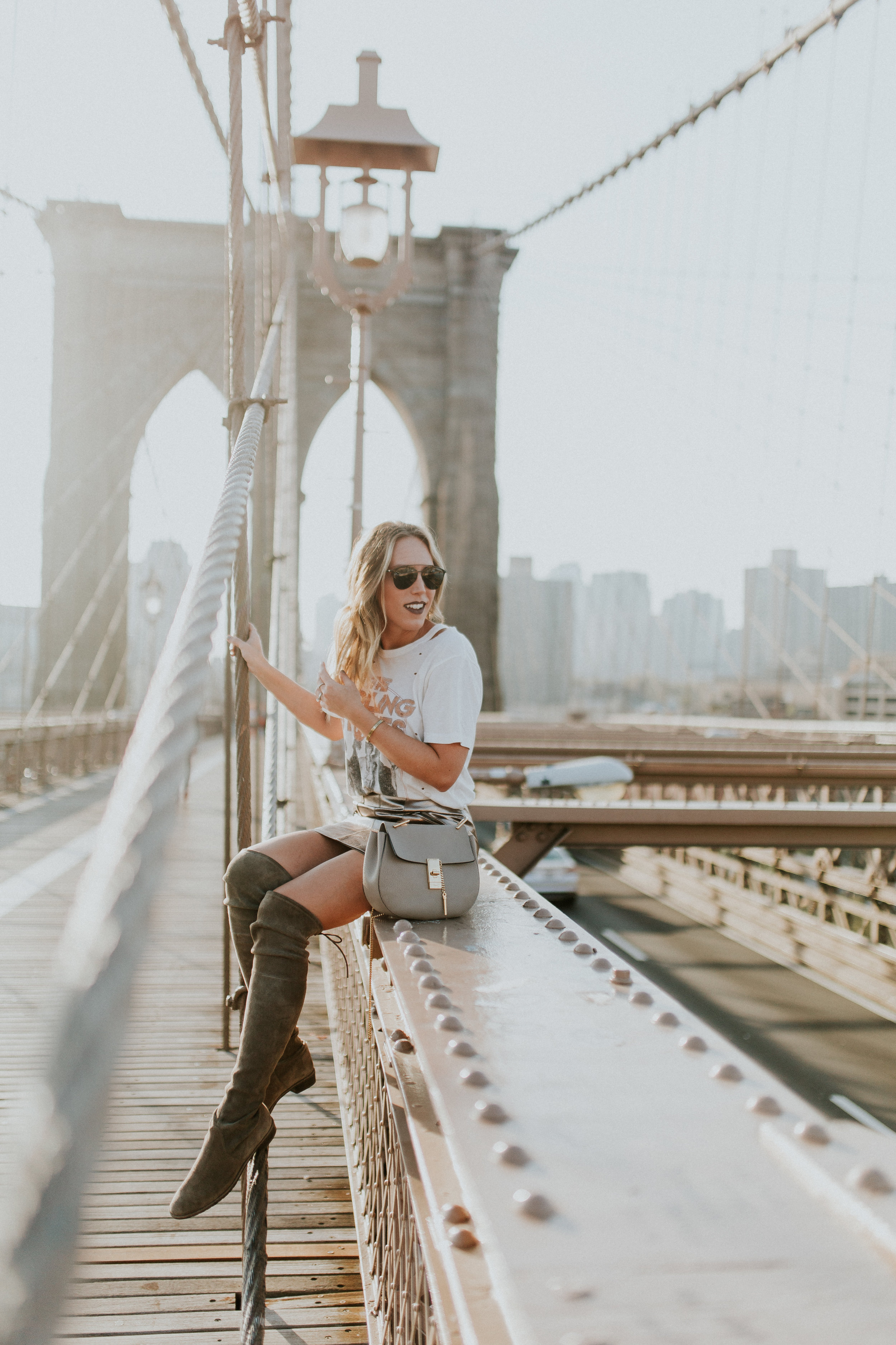 Blogger Gracefully Taylored in DayDreamer Tee, BlankNYC Skirt and Stuart Weitzman Boots(15).jpg