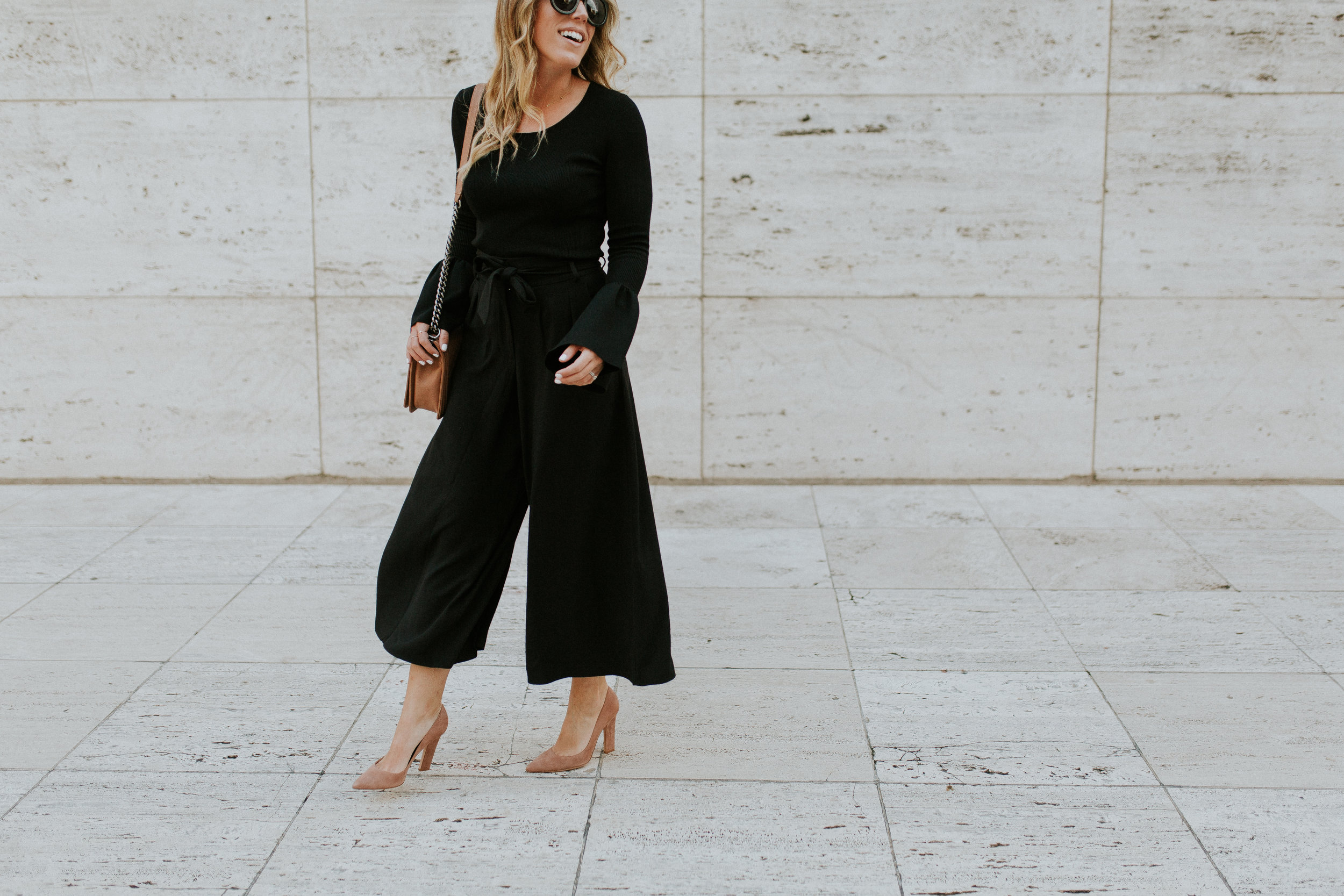 Blogger Gracefully Taylored in Nordstrom Culotte and Bell Sleeve Sweater(10).jpg