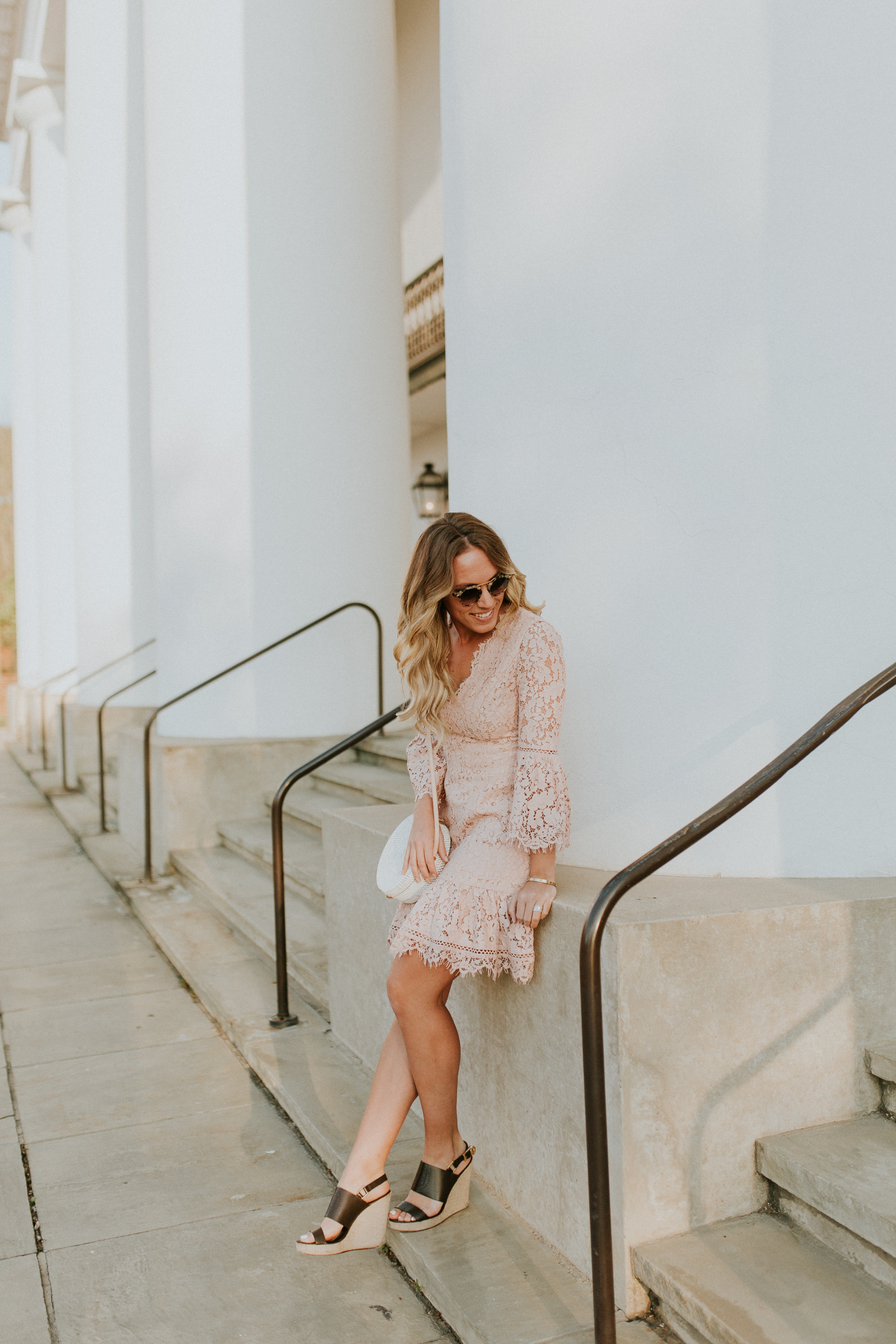 Blogger Gracefully Taylored in Blush Lace Dress Nordstrom(28).jpg