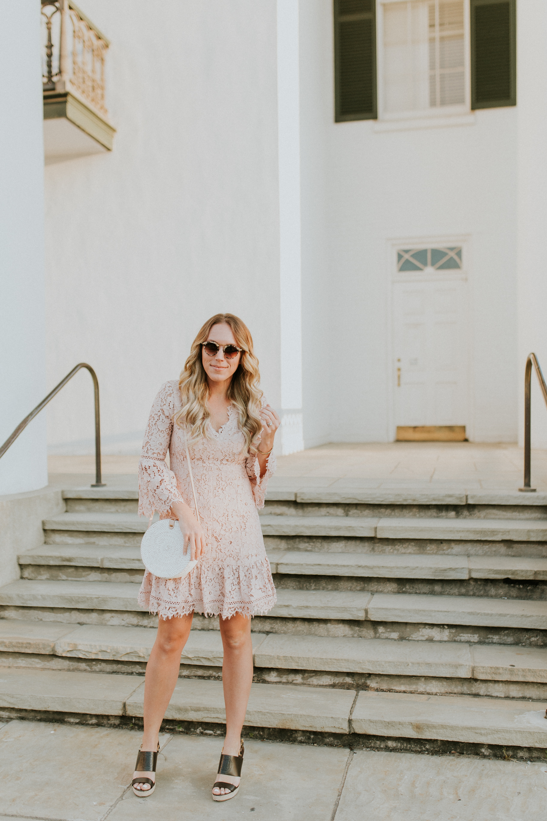 Blogger Gracefully Taylored in Blush Lace Dress Nordstrom(4).jpg