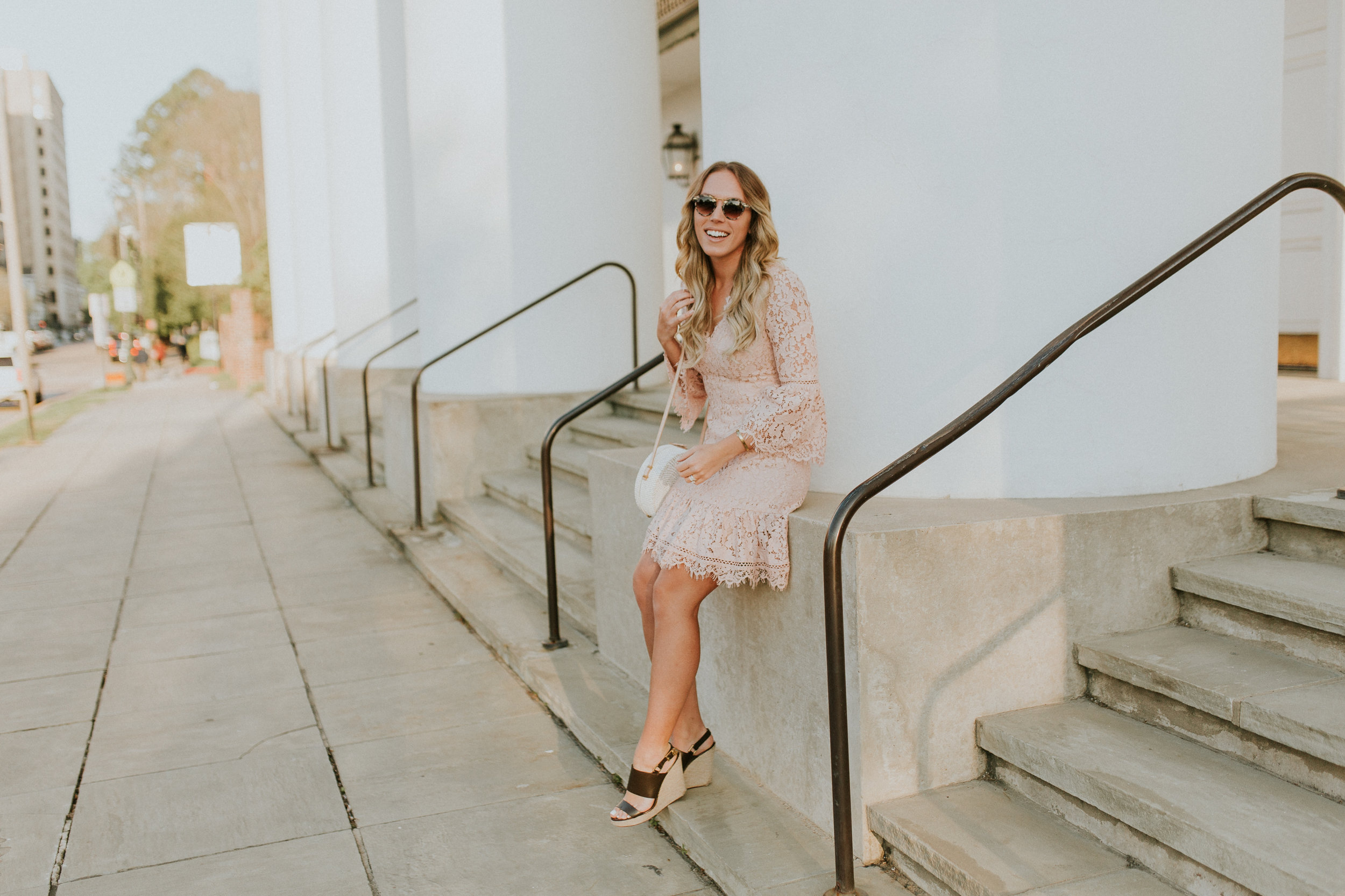 Blogger Gracefully Taylored in Blush Lace Dress Nordstrom(33).jpg