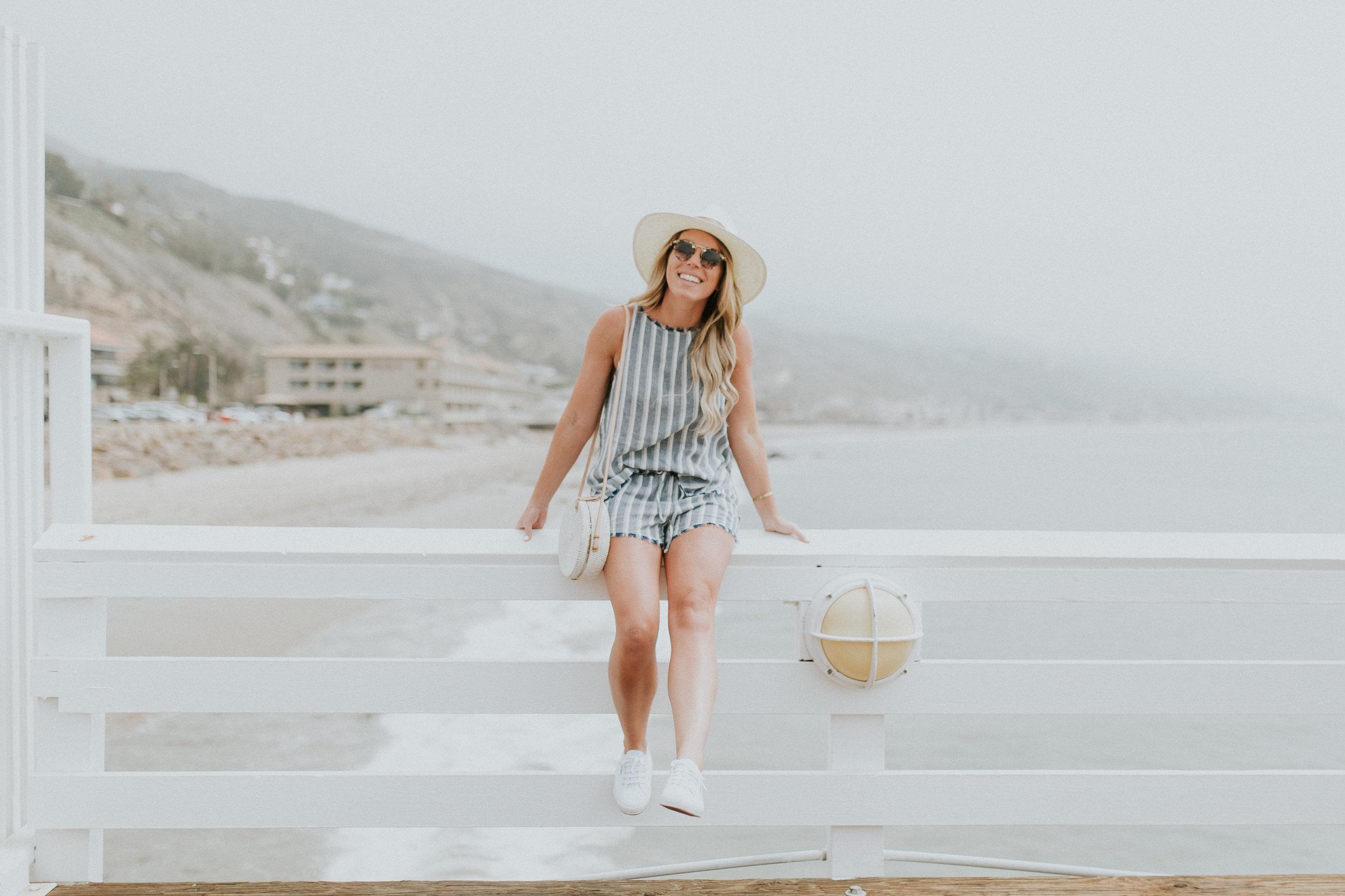 Blogger Gracefully Taylored in Bella Dahl Set in Malibu(3).jpg