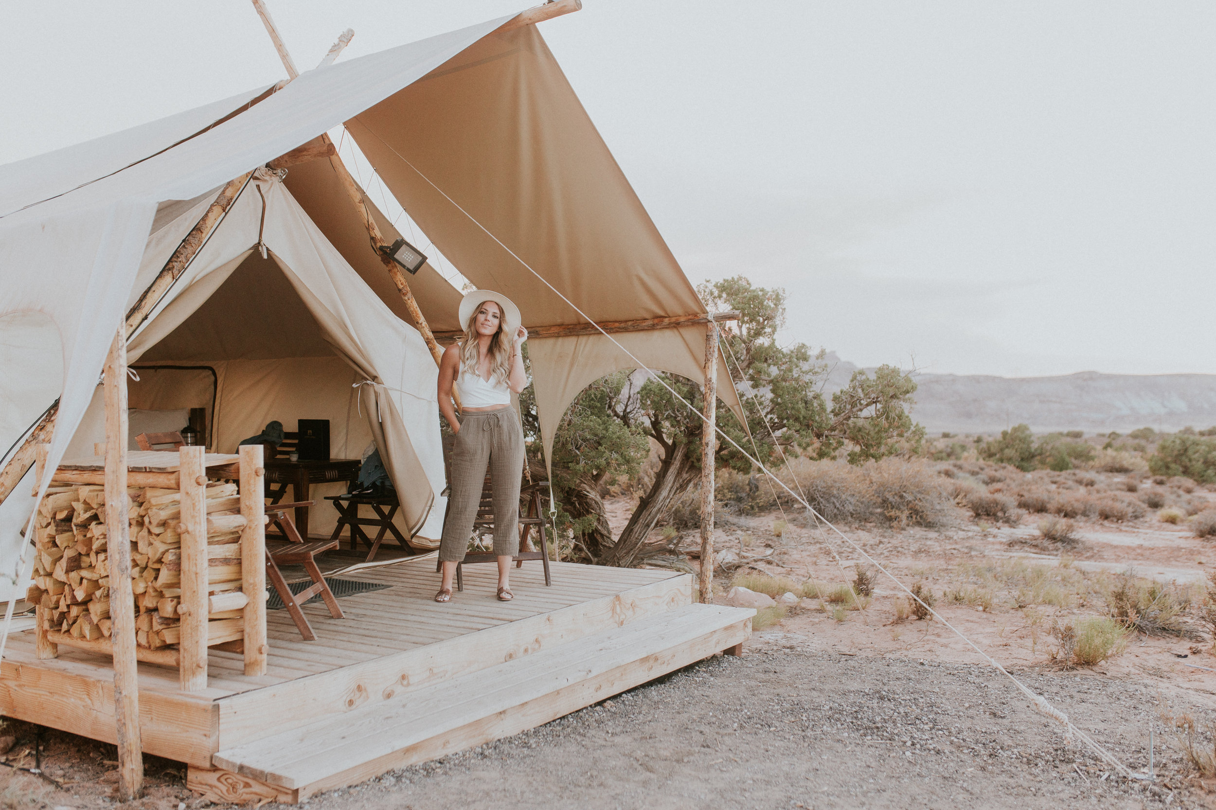 Under Canvas Moab — Gracefully Taylored