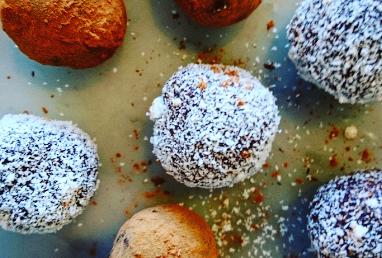 Raw Pumpkin truffles