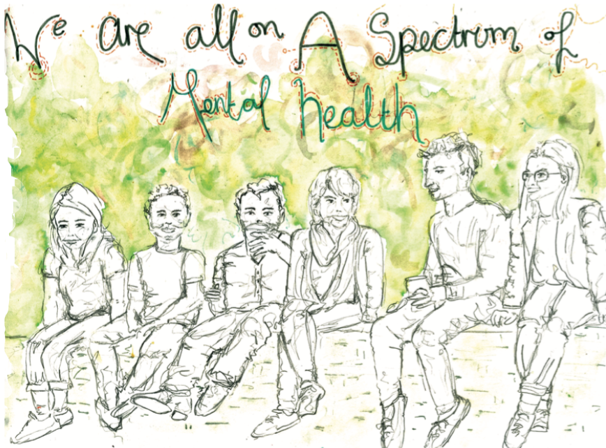 We are all on a spectrum of Mental Health