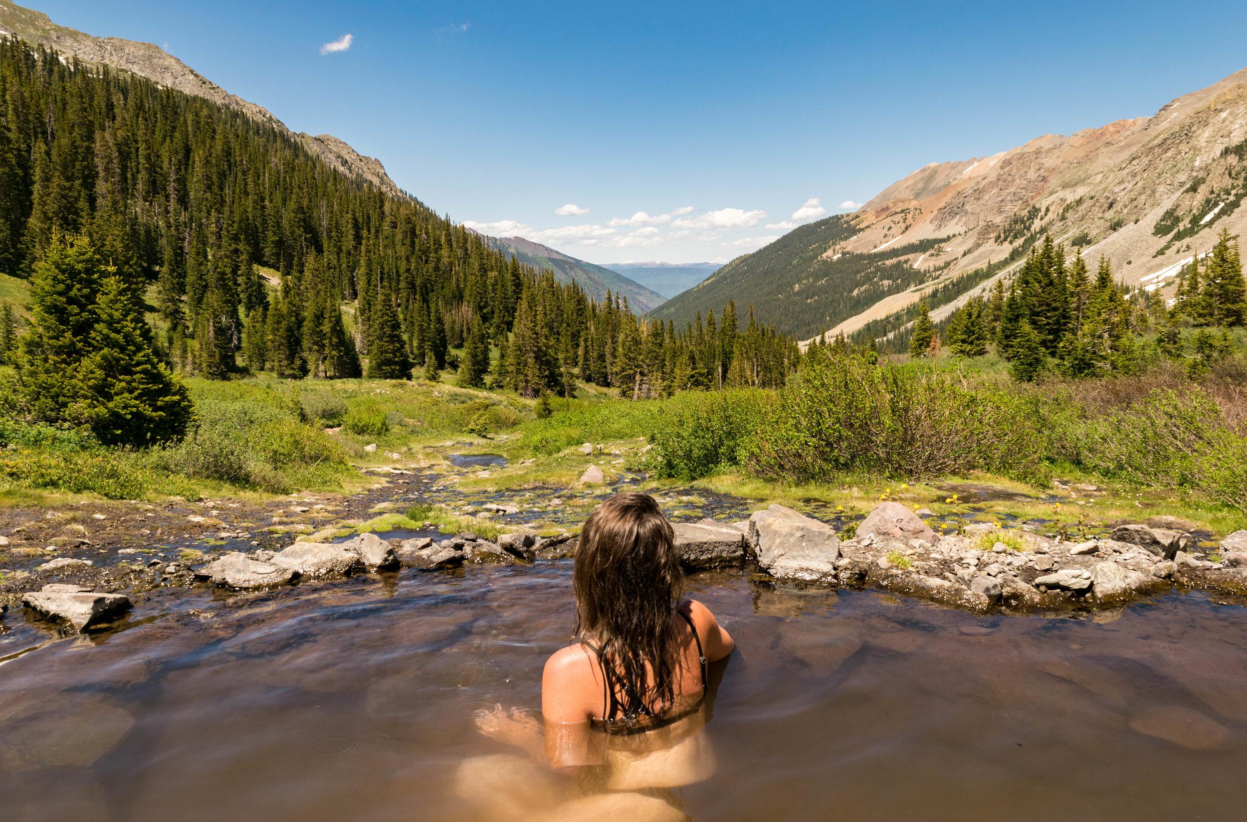 Among The Wild - Soak It In: Conundrum Hot Springs (Aspen, CO)