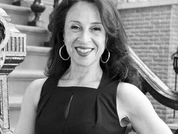 MARIA HINOJOSA   Award-winning journalist, author, advocate for diversity in the media, anchor and executive producer of Latino USA and political podcast In the Thick, and creator of the Futuro Media Group.