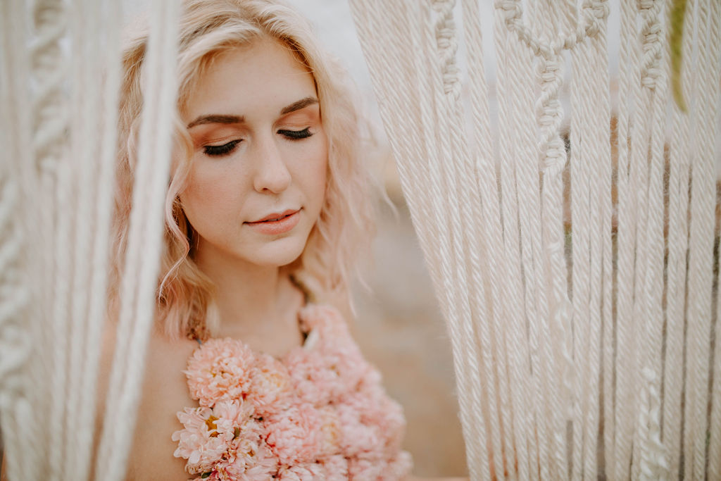 Bellingham bridal hair stylist, makeup artist, barnstar events