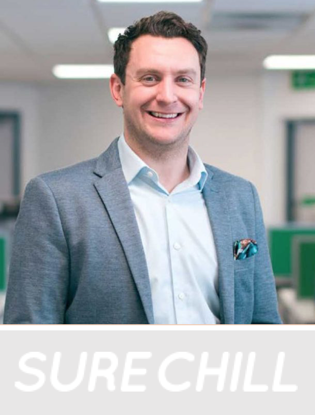 Nigel Saunders, CEO of Sure Chill