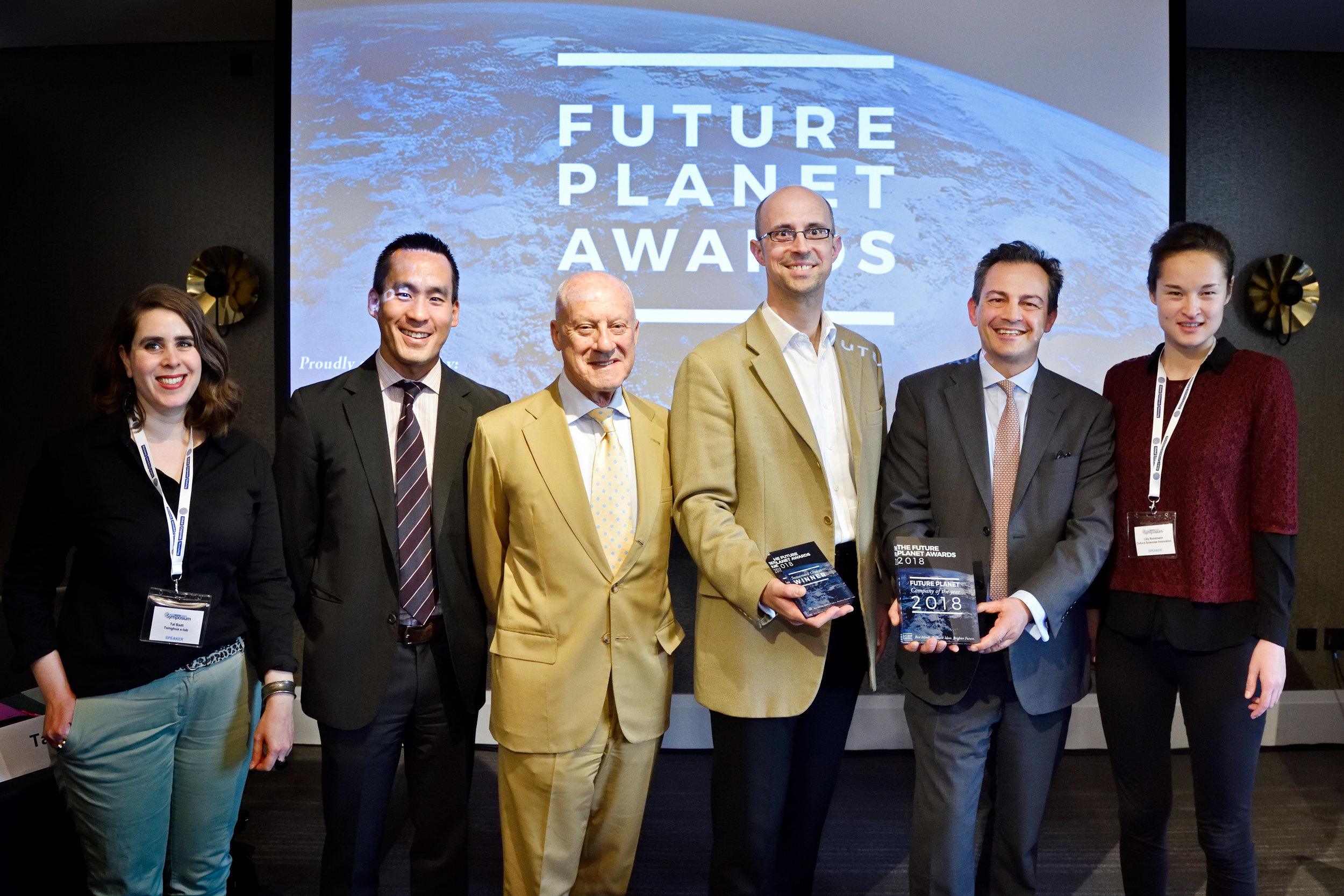 Lord Norman Foster Future Planet Awarsd