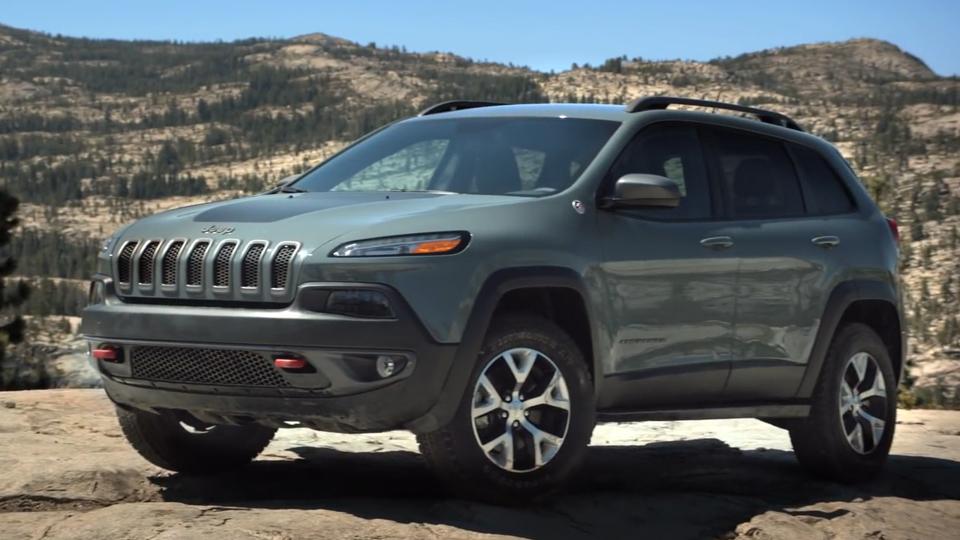 Jeep Cherokee Trailhawk Launch