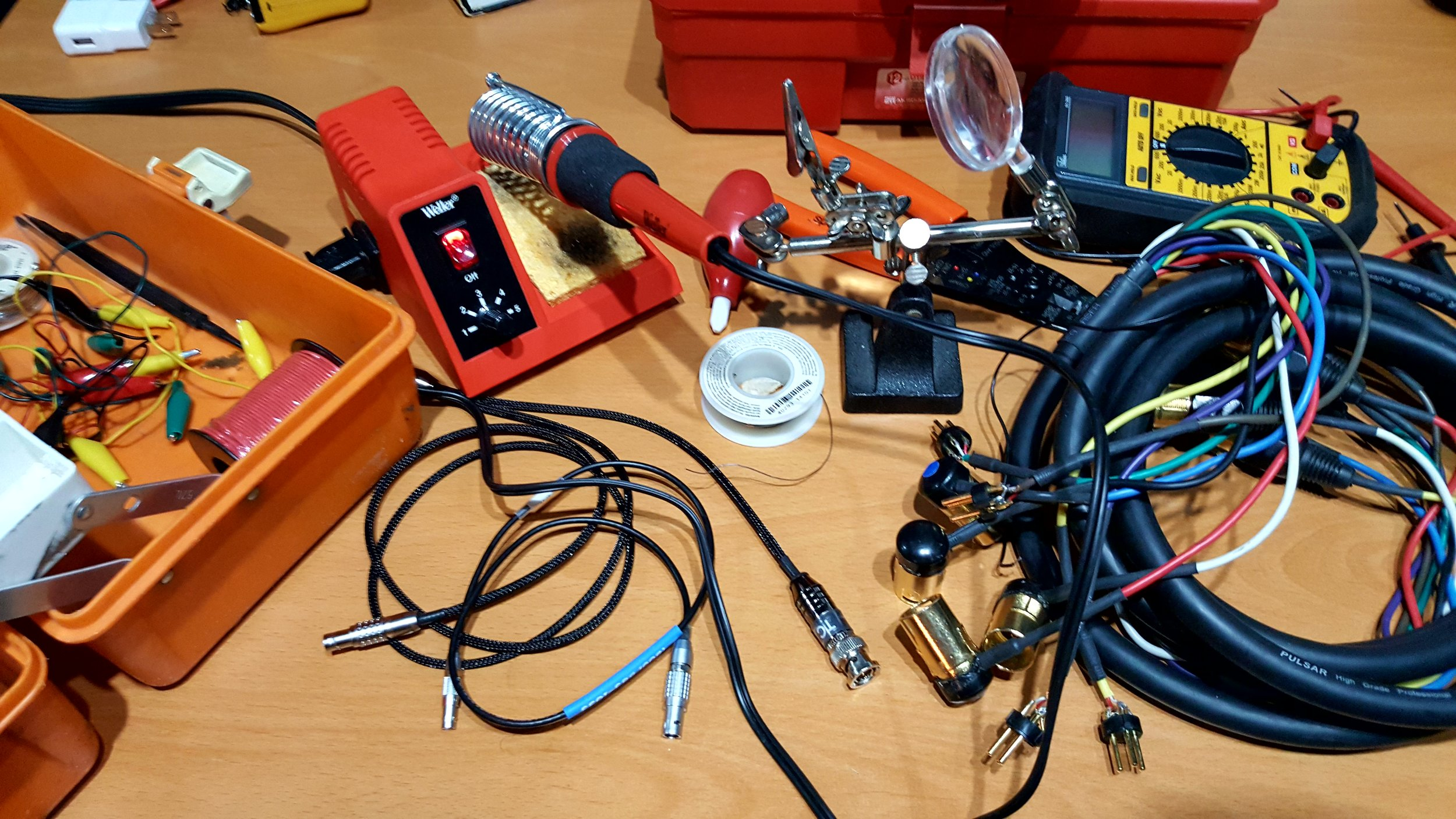 Accessories & Customized Solutions - My gear packages come along with every accessory needed to ensure proper and reliable function as well as the knowledge of how to maintain or modify equipment if needed. Prior to your shooting date, we'll have the opportunity to discuss specific technical aspects and alleviate any concerns before we ever step on set.
