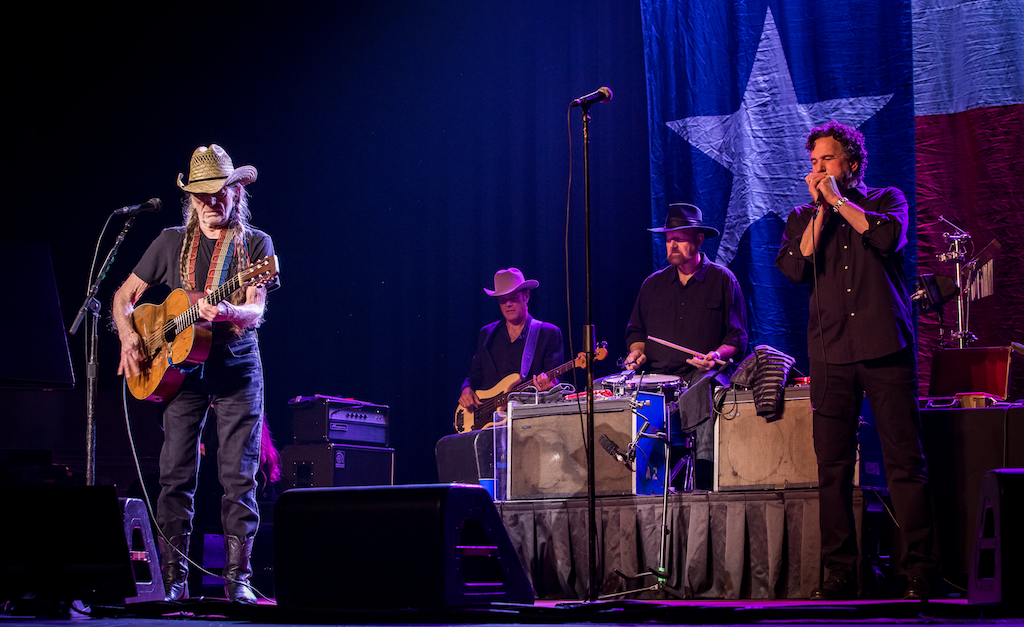 Willie Nelson & Family at The Venetian Theatre in Las Vegas. Photo credit: Erik Kabik