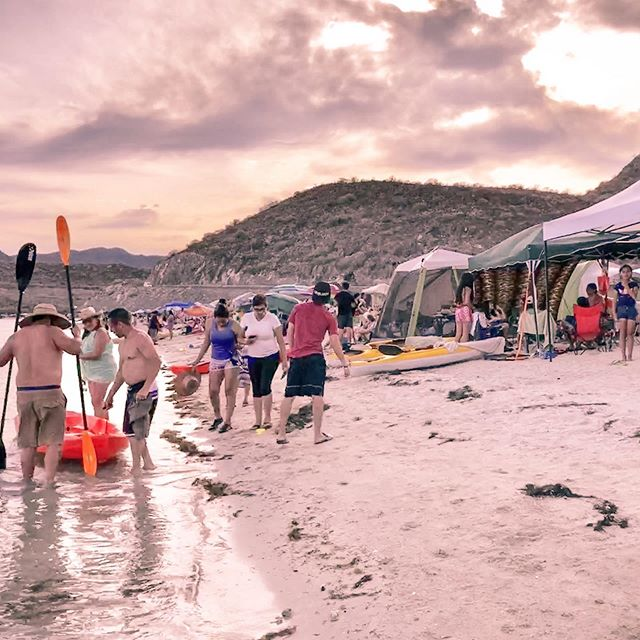 There was plenty of fun to be had at Semana Santa in Bahia Concepcion in the Sea of Cortez. #semanasanta #festivals #seaofcortez #bajacalifornia #baja #beach