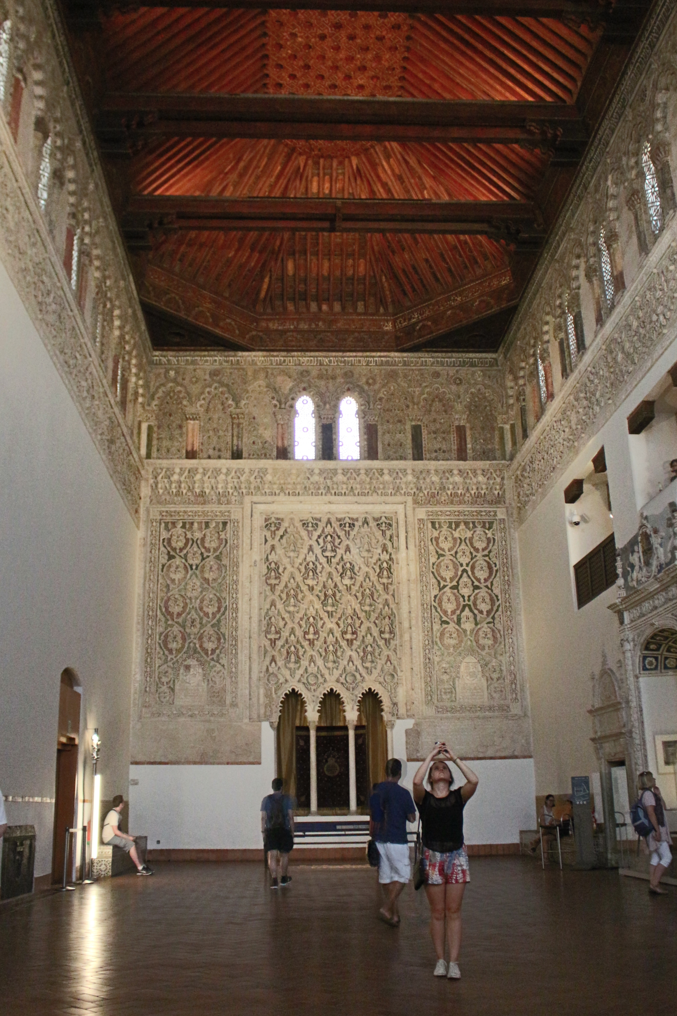 The Tránsito  Synagogue in Toledo.
