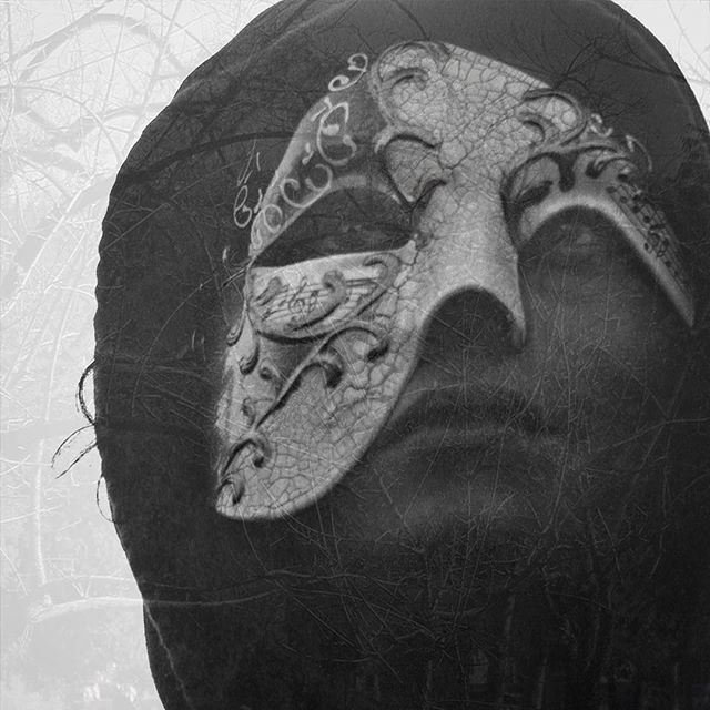 🌫 . . . . . . . #mask #facade #phantom #lies #beneath #truth #hoodie #hood #music #notes #branches #nature #moody #moodgrams #cracks #imperfect #imperfections #shadow #mystery #mysterious #wcw #wednesday #wednesdaywisdom