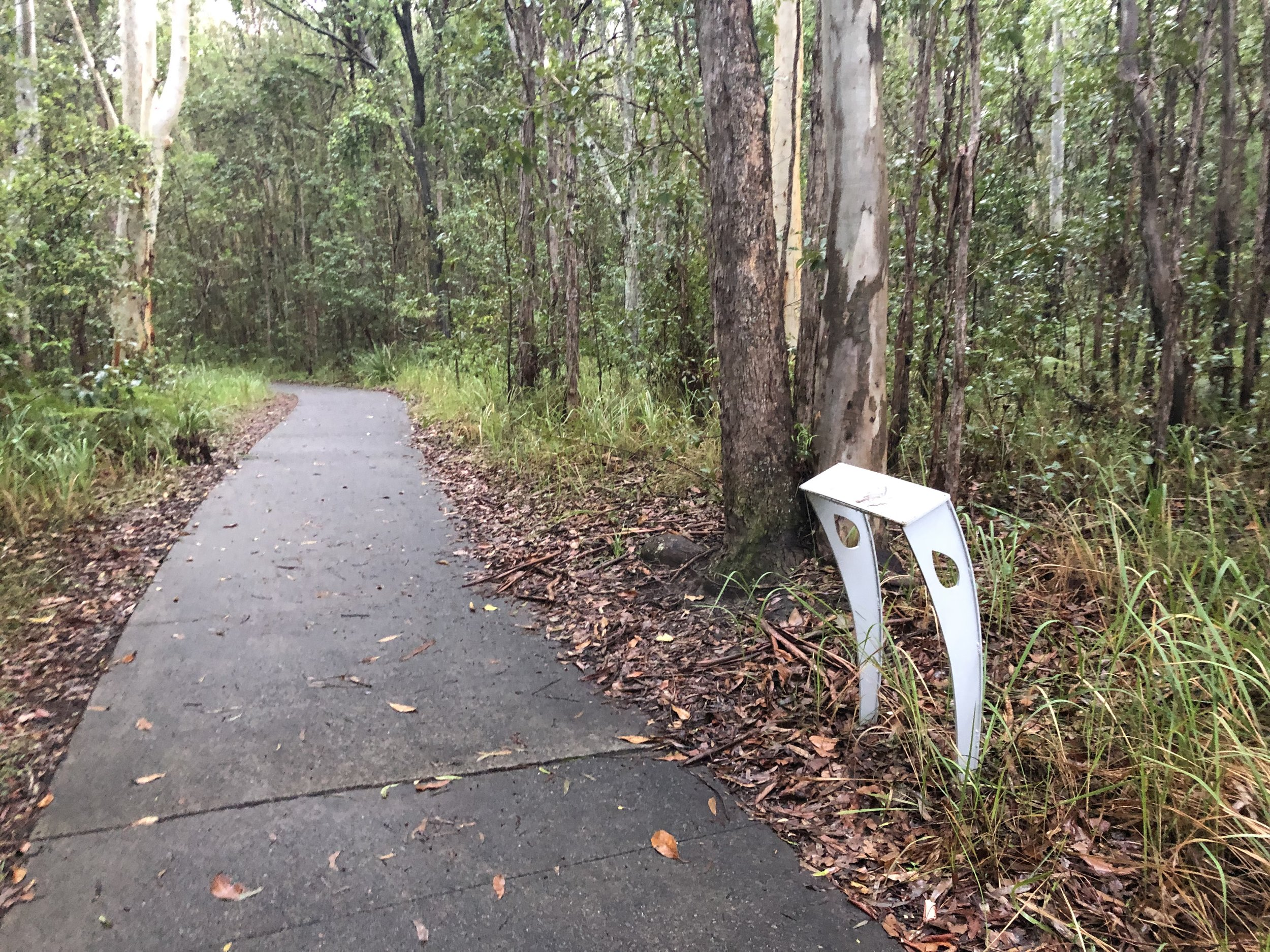Beautiful bushland flanks you on both sides as you snake through the course