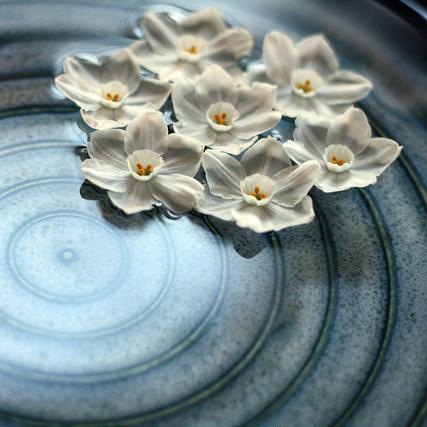 Photo by Elizabeth Ryan; ceramic art by Leanne Carnes