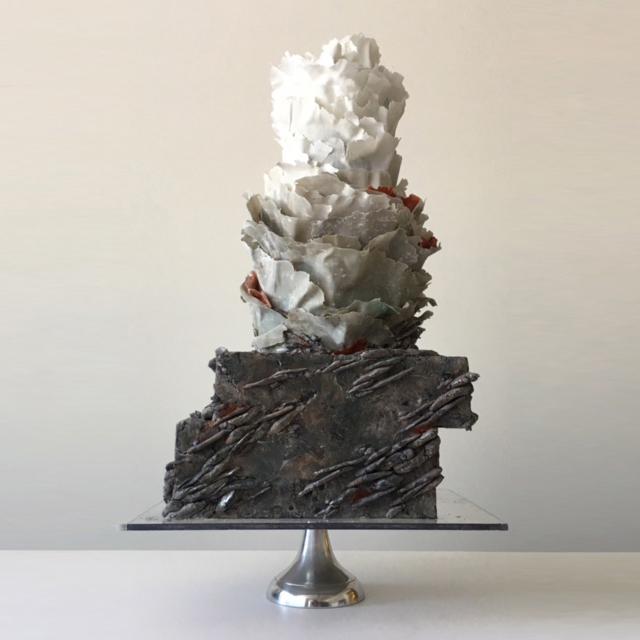 "fort point wedding cake grey ""international orange"""