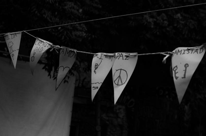 Banderines de Lavapiés