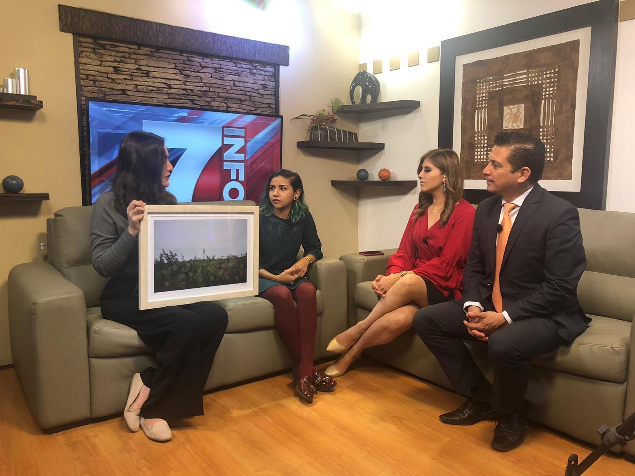 Entrevista Info 7 de Azteca Noreste Mexico