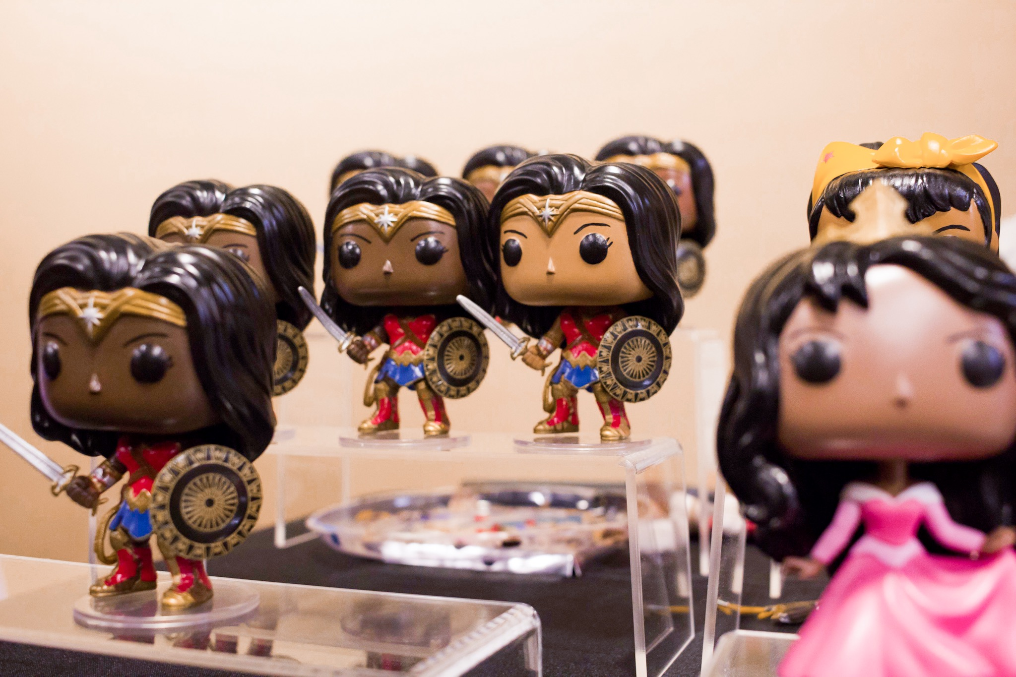 Okay. This girl takes Funko Pop vinyls and blackifies them! How amazing is that??