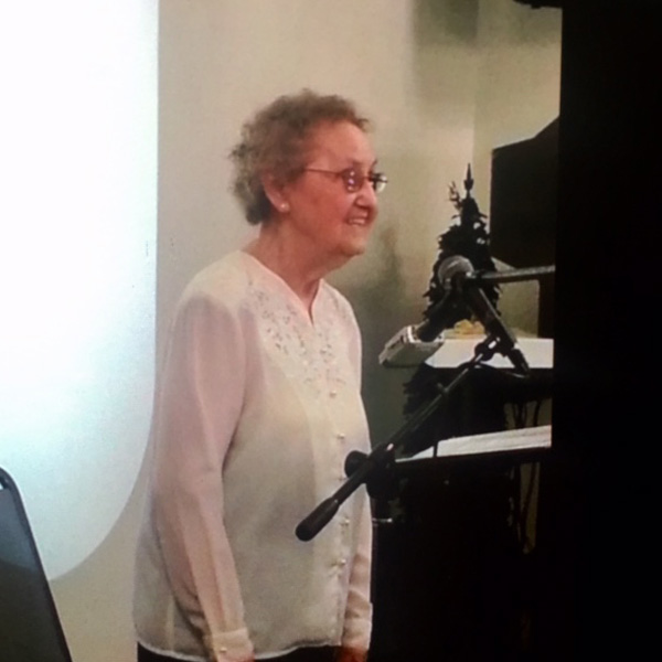 Frances Shrock  May 9, 2014    Listen HERE