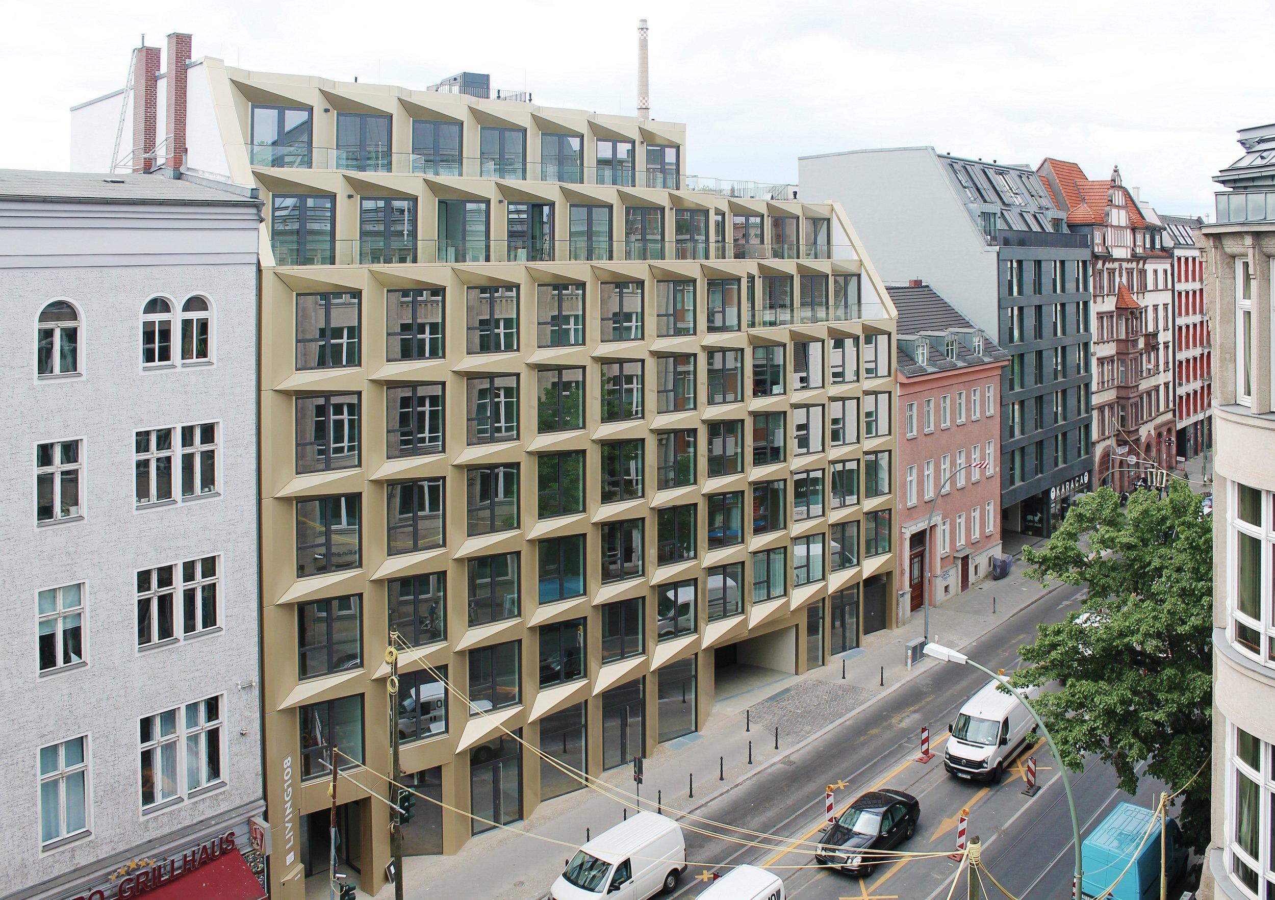 Living 108, Berlin / Axthelm Architekten, Potsdam