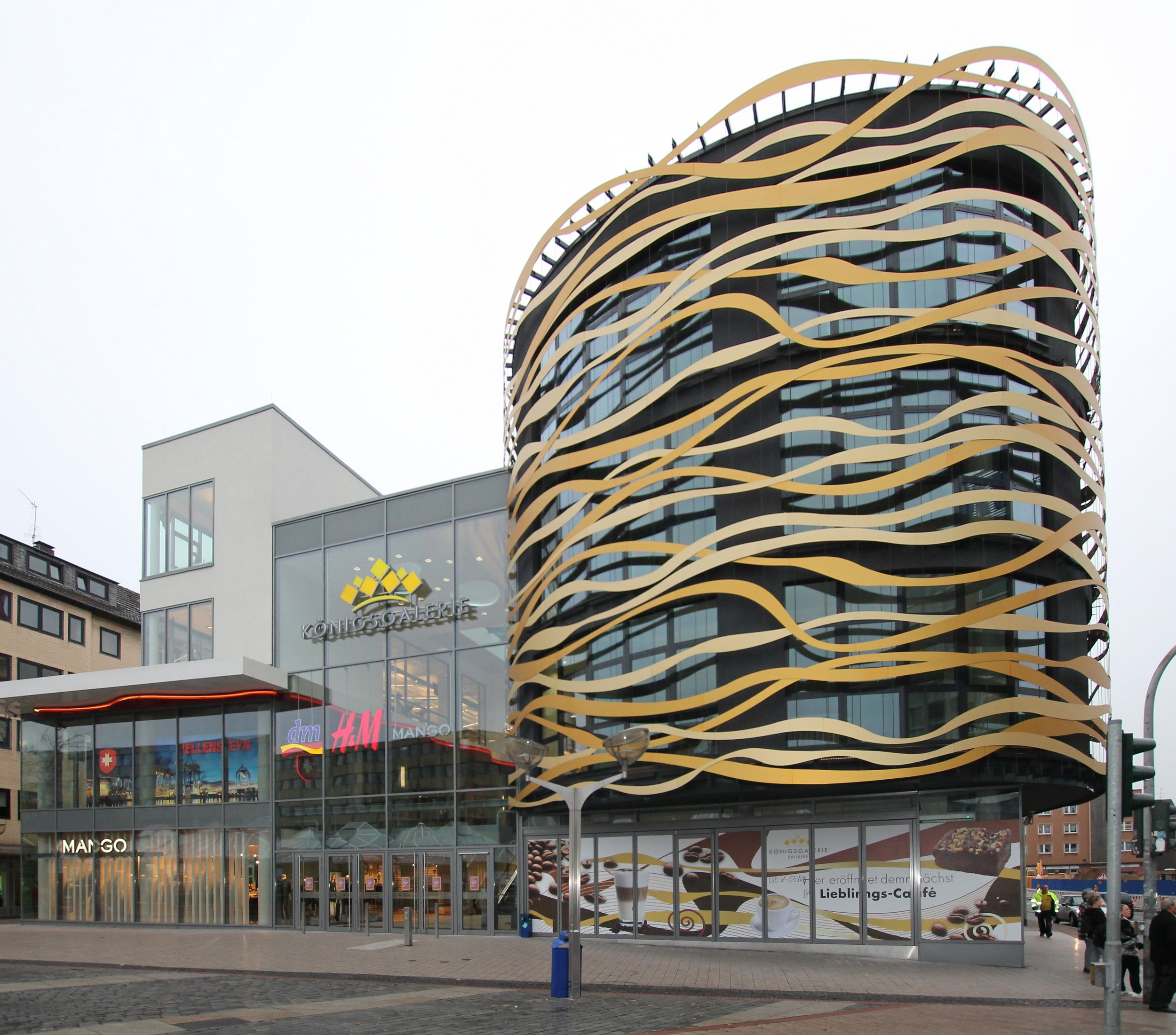 KöGalerie, Duisburg / msp-architekten /  Foto:  P. Strothmann