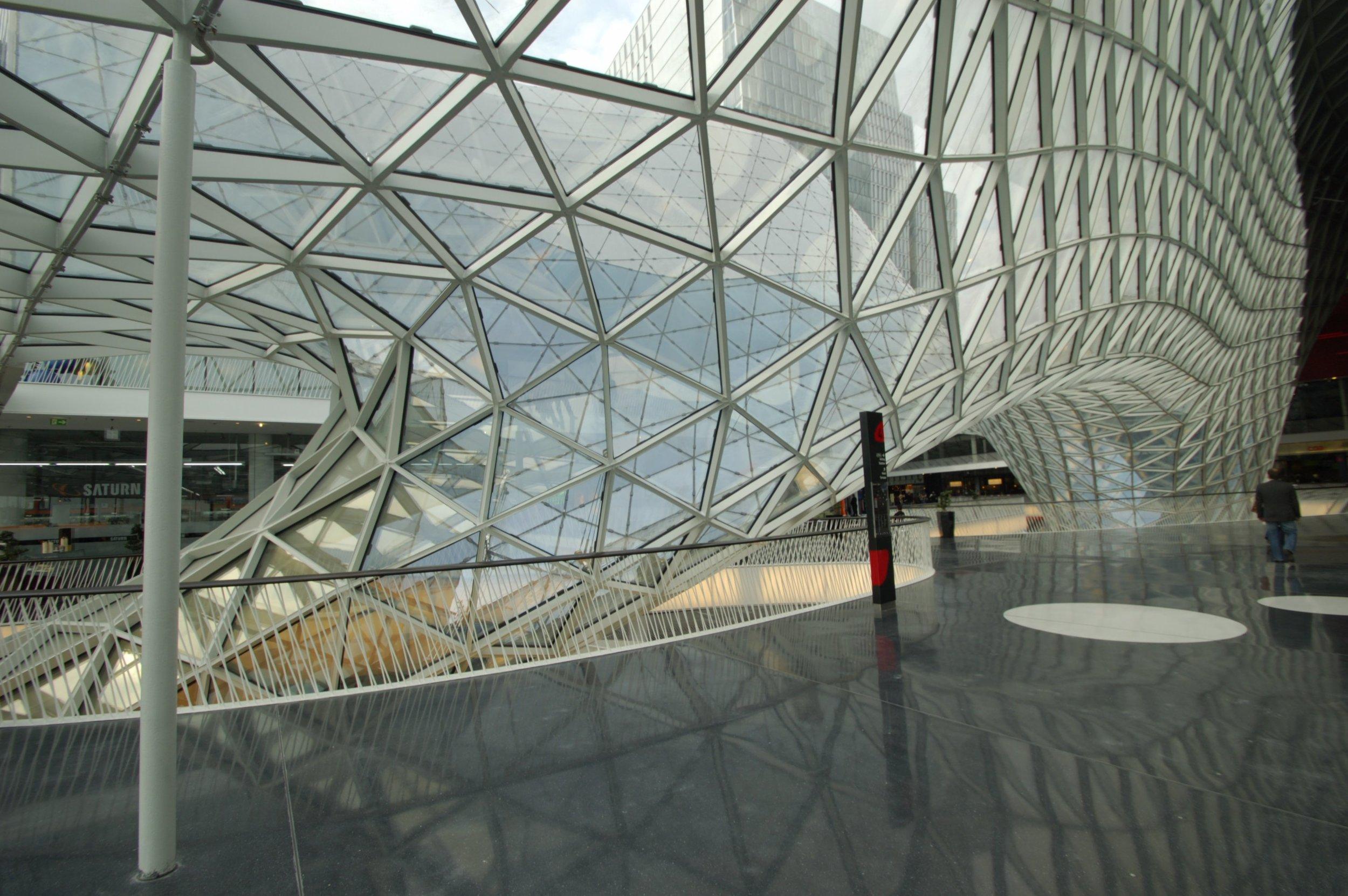 MyZeil, Frankfurt / M. Fuksas Architecture, Rom / KSP Architekten GmbH, FFM